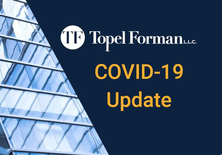 COVID-19 Update #1 (March 16, 2020)
