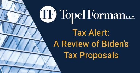 Review of Biden's Tax Proposals (November 12, 2020)